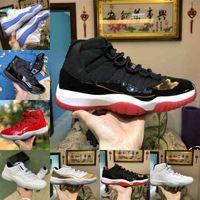 2021 novo jubileu pantone criado alto 11 11s sapatos de basquete lenda azul 25th aniversário espaço jam gama azul easter concord 45 baixa columbia branco tênis vermelho f25
