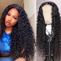 Lace Wigs Mayfair Bob Human Hair Water Wave Front Transparent For Women Natural Color Brazilian Non-Remy