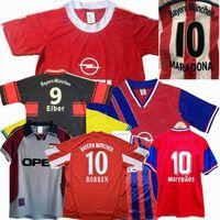 Retro Classic Bayern Jerseys 1991 93 95 96 97 98 99 2000 2001 2010 11 13 14 كرة القدم Klose Scholl Matthaus Lahm Klinsmann Schweinsteiger روبن ميونيخ كرة القدم