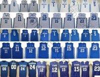 NCAA 켄터키 와일드 캣츠 0 여우 5 몽크 3 Adebayo John11 벽 12 마을 15 사촌 안토니 23 Davis Devin 1 인사 스티치 농구 유니폼