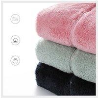 Women's Jackets Lover Jacket 2021 Fall Winter Zip Up Fleece Warm Thick Scrub Plus Size 5XL 4XL Pink Black Green White Grey Navy