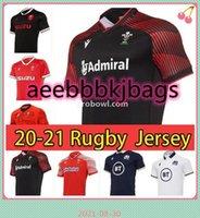 Schottland Home Away Rugby Jerseys 2021 Mode National League Weltmeisterschaft Wales Scottish Shirt Größe S-XXXL