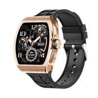 Relógios inteligentes IP68 À Prova D 'Água 1.4inch Touch Tela de cor F1 K18 SmartWatch suporte chamando a frequência cardíaca pressão arterial