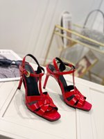 High quality women's high-heeled sandals classic designer style banquet with evening dress full set of exquisite packaging