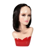 Pure human hair Bob style Natural straight Human hair wigs cuticle aligned 100% mink Brazilian raw Virgin Hair Lace Front wigs