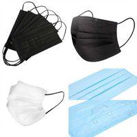 大人のマスクの個々の安価な美しい印刷の蝶デザイナーの顔マスク層使い捨てパックパックのFaマスク保護マスコリラ