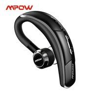 MPOW BH028A Bluetooth Kulaklık Kablosuz Kulaklık Handsfree Arama Kulaklık Ile 6 Hrs Çalma İş Araba Sürücüsü için Oynatma
