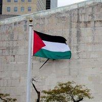 Bahçe Süslemeleri Benzersiz Dekoratif Filistin Bayrağı Ev Çuvalatı Dikey Açık Banner Breeze 90 * 150 cm