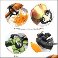 Tools Kitchen, Dining Bar Home & Gardenw Stainless Steel Rotary Potato Peeler Vegetable Fruit Cutter Kitchen Ewa4840 Drop Delivery 2021 Qibs
