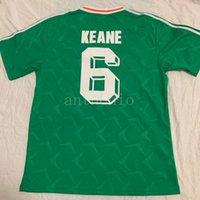 أفضل تايلاند 1990 الصفحة الرئيسية أيرلندا الرجعية لكرة القدم جيرسي الأيرلندية كرة القدم جمهورية أيرلندا المنتخب الوطني الفانيلة كأس العالم لكرة القدم