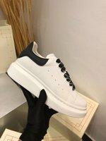 حرية هدية مصمم فاخرة الرجال النساء المرأة الأبيض أحذية رجالي espadrilles الشقق منصة المتضخم عارضة الأحذية espadrille شقة zapatilla أحذية مع صندوق