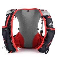 Wholesale-Aonijie Outdoors5l Bolsas deportivas al aire libre Mujeres / Hombres Running Bags 5l Paquete de chaleco para correr Senderismo Hidratación