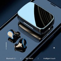 M9 TWS Bluetooth 5.1 Wireless Earphones Touch Control Earbuds Sports Headsets Headphones Noise Cancellation LED Display 2000mAh Capacity