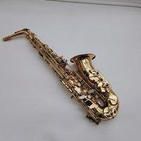 JK KEILWERTH ST110 ALTO SAXOFOONHOPONE Высококачественный латунный Золотой Лак EB Настройка Музыкальных инструментов со мундштуком