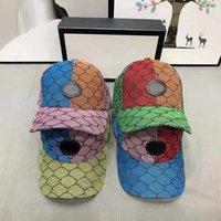 다채로운 양동이 모자 패션 패치 워크 streetwear 편지 모자 남자 여자 모자 조정 가능한 공 모자 디자인 4 색 고품질