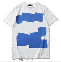 2021 디자이너 스타일 남성용 티셔츠 셔츠 여름 레저 고품질 트렌드 여성 짧은 소매 드레스 인쇄 편지 패턴 크루 넥