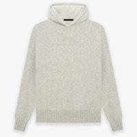 2021 USA Warm 7th Knit Hooded Sweater Autumn Winter Fashion men Oversize Pullover Hoodie Coat Sweatshirt