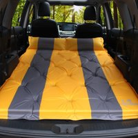 Outdoor Pads TOPAuto Multi-Function Automatic Inflatable Air Mattress SUV Special Car Bed Adult Sleeping Travel
