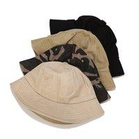 gorra camuflaje sombrero lavado masculino algodón cúpula pescador color sólido moda tendencia cuenca sol sombrero mujer