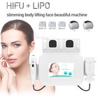 HIFU face lifting lipo body slimming machine for wrinkles removal and skin tighten Anti-wrinkle Liposonic Equipment