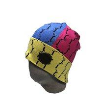 Sıcak Yüksek Kalite 2021 Moda Yüksek Kaliteli Beanie Unisex Örme Şapka Örme Şapka Klasik Spor Kafatası Bayanlar Rahat Açık 88
