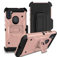 Defender Holster Belt Clip Rugged Armor Case for Samsung Galaxy A20 A30 A50 A01 A21 A11 S21 S20 Ultra Note 20 Plus Cover
