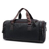 Duffel Bags Grande Capacidade Saco de Viagem Homens Bolsa Moda Moda Mensageiro Masculino Mensageiro Casual Crossbody Tote Ombro