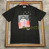 2020 NOUVEAU Été Haute Qualité Homme Géométrie T-shirt T-shirt Mens Designer T-shirts Camisetas Hommes Photo Print T-shirts T-shirts de coton unsexe