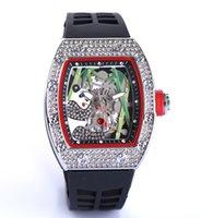 20 стильных простых дизайна алмазные часы мужской досуг резиновые кольцевые кварцевые спортивные календарь часы большой циферблат крутые спортивные бизнес-часы