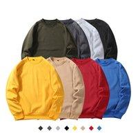 Herren Hoodies Modedesigner Große Größe Gedruckt Rundhals Herbstjacke Fleece Farbe Solide Sweatshirts Perfekt für Jeans und Hosen