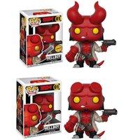 Action Toy chiffres Shipping PhysiqueHellboy Hell Baron Funko Pop Blood Queen autour de Chase Mains Modèle Ornements