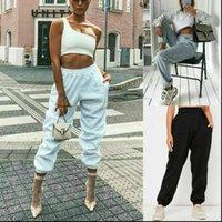 Bayan Rahat Parça Pantolon Kadınlar Katı Spor Sonbahar Uzun