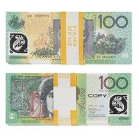 PROP Game Австралийский доллар 5/10/20/50/100 AUD Banknotes   Бумажная копия поддельных денег фильма реквизит