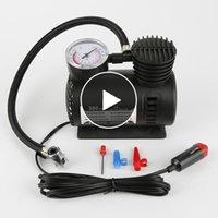 المحمولة مصغرة الكهربائية 12 فولت سيارة 12 فولت 300psi دروبشيبينغ الاطارات ضاغط الهواء infaltor