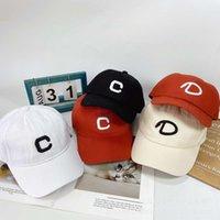 Top Soft Cotton Women's Street Cd Curved Brim Lovers Baseball Cap Trendy Hip Hop Hat Man