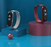 Moda pantalla táctil LED relojes mujeres aleación casual Magnético Mesh Band Electronic Digital Impermeable Boy Chica Pulsera Reloj