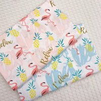 Birds Printed Kids Twill Cotton Fabric Patchwork Cloth For DIY Sewing Quilting Fat Quarters Material Baby&Child