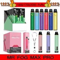 Einweggerät Kits 1000/1700/2000 Puffs 850mAh Vape Pen 3,5ml Vaporizer 16 Farben PK Bang XXL Air Bar Posh Puff Plus