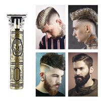 Hair Scissors Professional Digital Trimmer Zero Gapped Men's Electric Cordless Clipper USB Rechargeable Shaver Haircut Gift