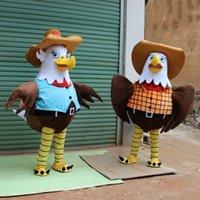 Maskottchen Kostüme Neue Eagle Kleidungsstück Gehende Cartoon Kostüm Maskottchen Kostüm Erwachsene Charakter Album der Malerei Mode