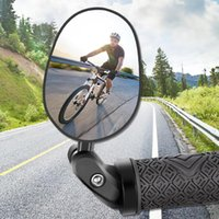 Bike Groupsets 65% Discounts ! 360 Rotation Adjustable Big Frame Foldable Safety Warning Rearview Mirror For Mountain Road