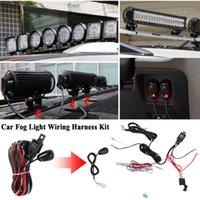 Andere Auto Electronics Universal Auto Mist Light Bedrading Harness Kit Loom voor LED-werk Rijbalk met zekering en relaisschakelaar 12V 40A