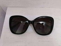 Pérola Polarizada Polarizada Óculos de Sol Cat Eye Sonnenbrille Occhiali da Sola Moda Moda Óculos de Sol Shades com Caixa
