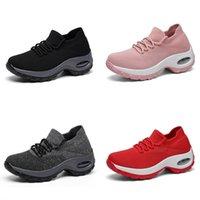 Tennis shoes Women Shoes Breathing Sneakers Track Ayakkabi Bayan Sports Comfortable Platform Red Zapatos The Mujer 0916