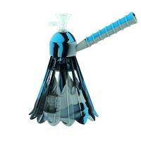 7.2'' tall Silicone water pipe hookah oil rig bongs hookahs shisha mix color selective