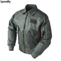 Dropship Tactical Army Military CWU 45P Bomber Jacket Men Flight Baseball Top Gun Black B3 Airforce Pilot Wind Breaker Men's Jackets