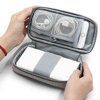 Sacos de armazenamento TUUTH POWER Bank Bag Organizador de eletrônicos de viagem para discos rígidos de telefone, USB, fones de ouvido