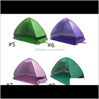 Shelters And Sports Outdoors Drop Delivery 2021 Top Quality Outdoor Quick Matic Opening Instant Portable Beach Tent Shelter Hiking Camping Fa