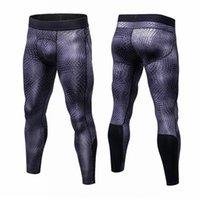 Outfits Йоги Юерлские мужчины 3D 3D цветочные печатные компрессионные брюки спортивные бодибилдинг быстро сушка фитнес тощий леггинсы свободный корабль