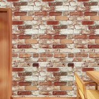 Wallpapers Vintage Cloud Brick For Living Room Bedroom Dining Shop Cabinet Decoration Self-adhesive Wall Papers Home Decor